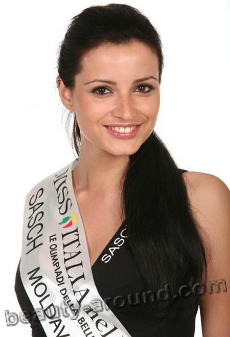 Диана Курмей / Diana Curmei молдавская модель, фото, Мисс Италия - 2009 / Miss Italia nel mondo-2009