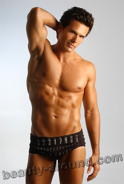 Gustavo Gianetti Mister World 2003 Brazilian male model photos