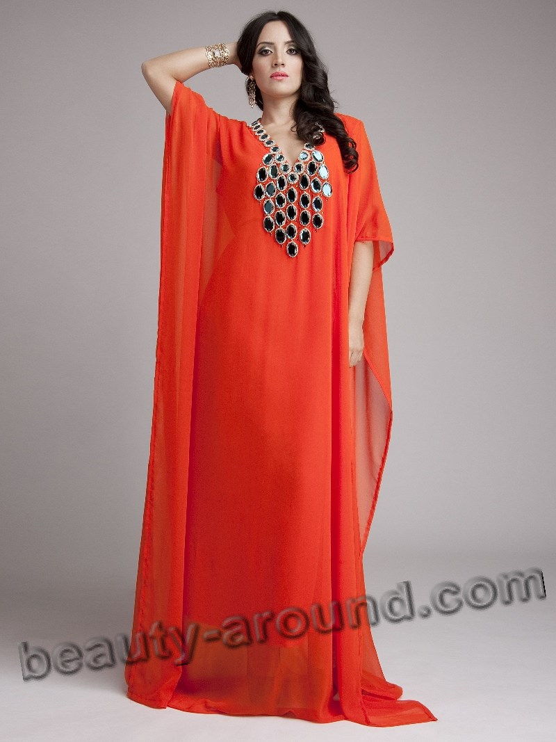 Bright Muslim abay silk and chiffon pictures