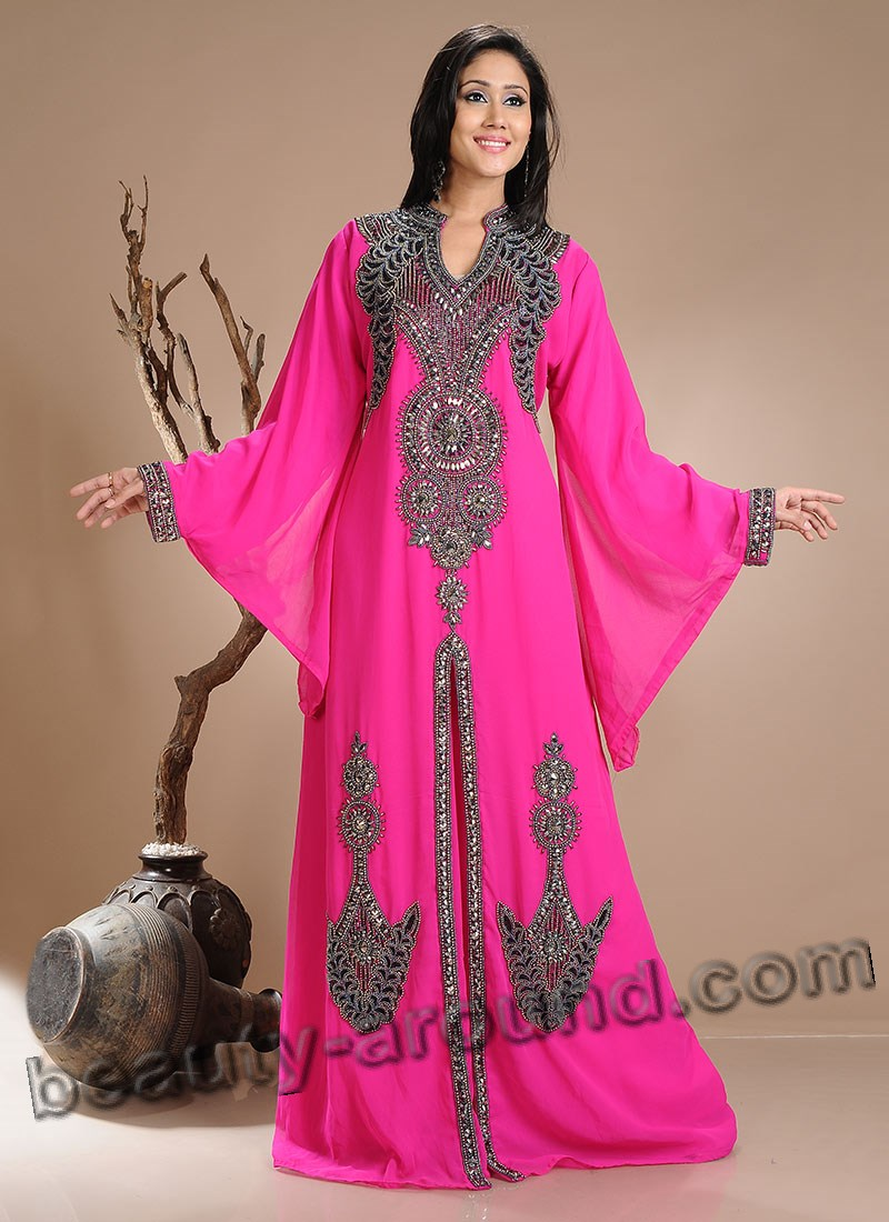 Arab abaya for celebration photo