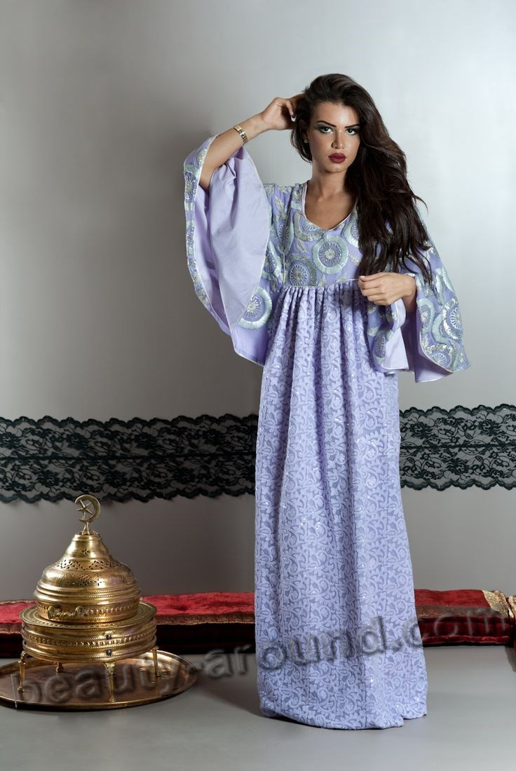 Arab Women's kaftan photo