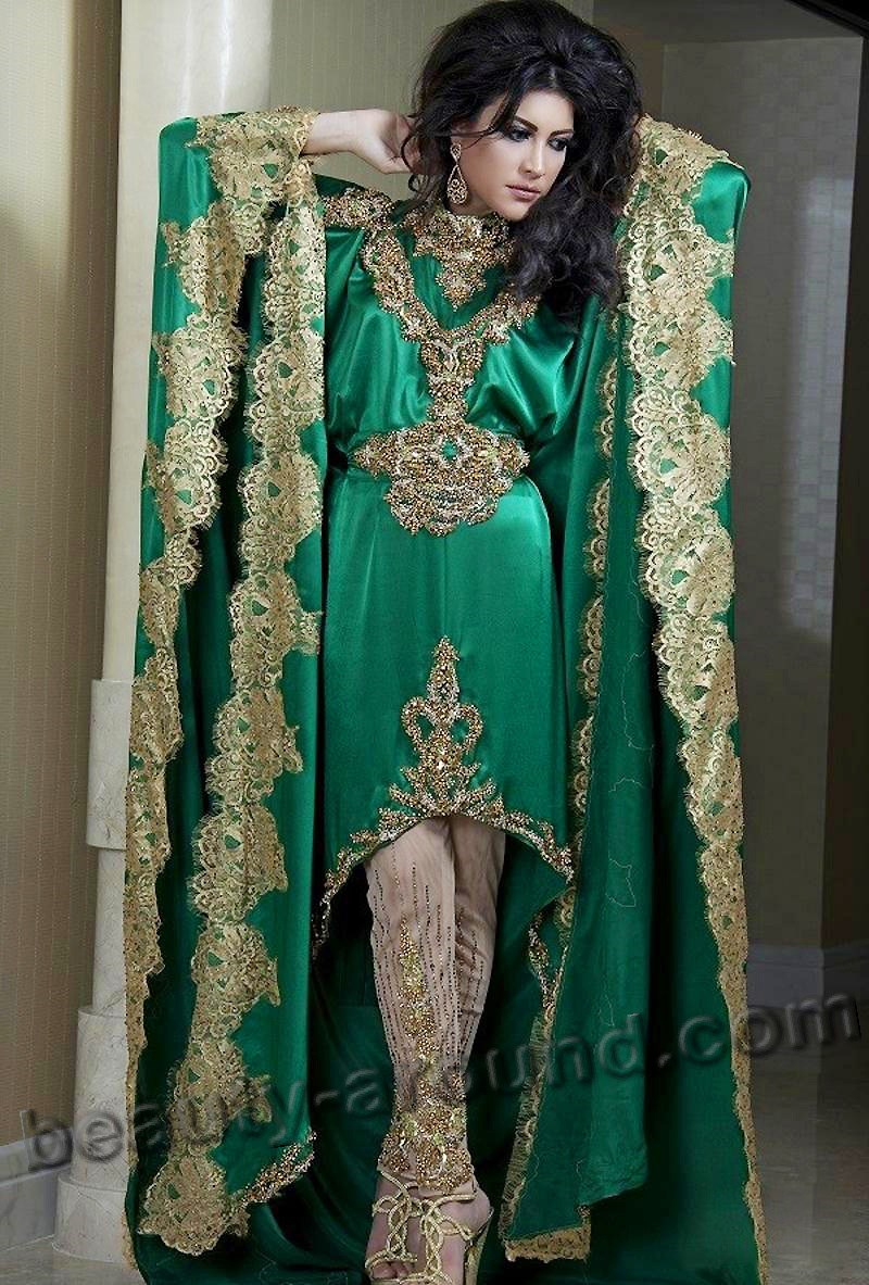 Indian designer kaftan photo