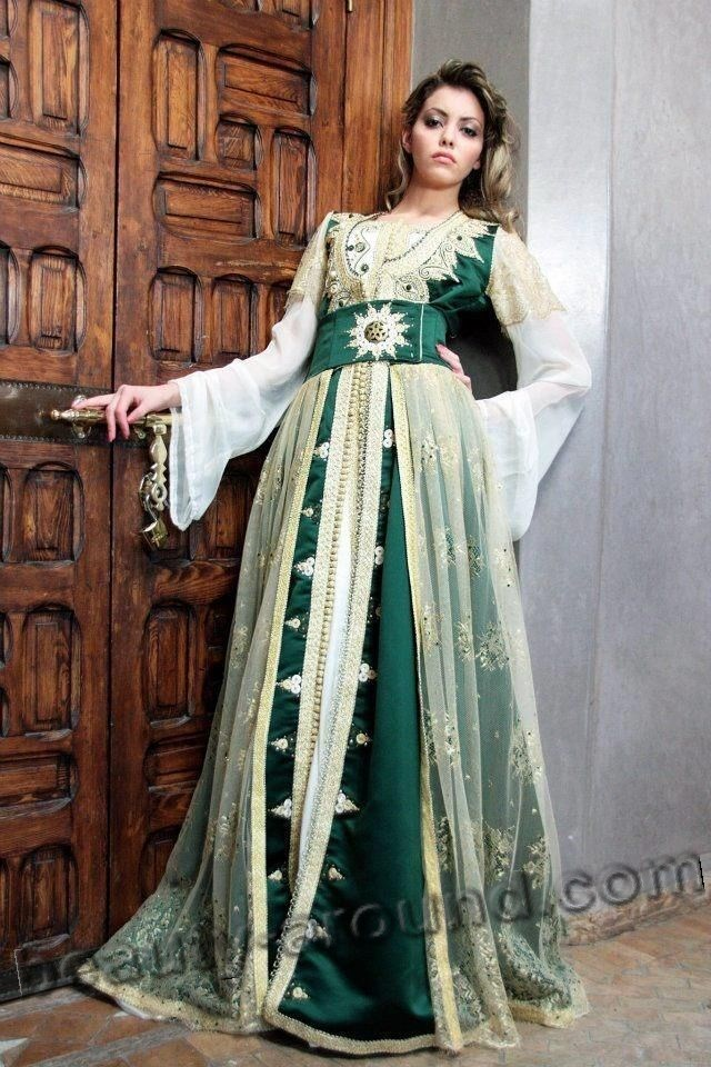 Turkish women's kaftan photo