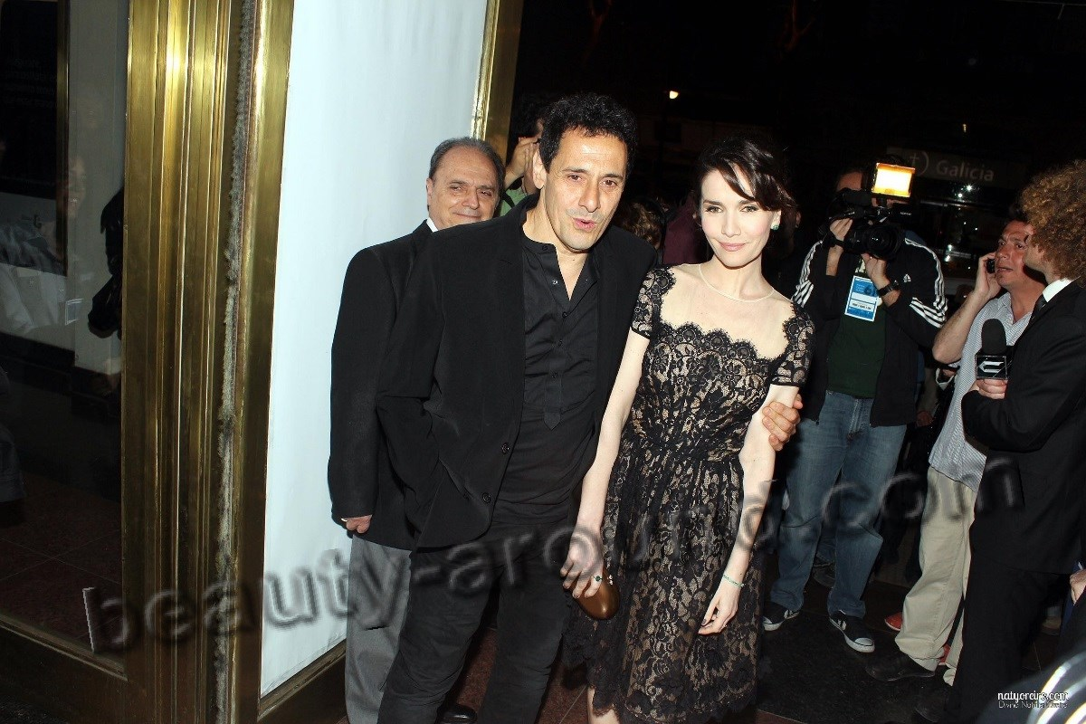 Natalia Oreiro with husband Riccardo Molyo photo