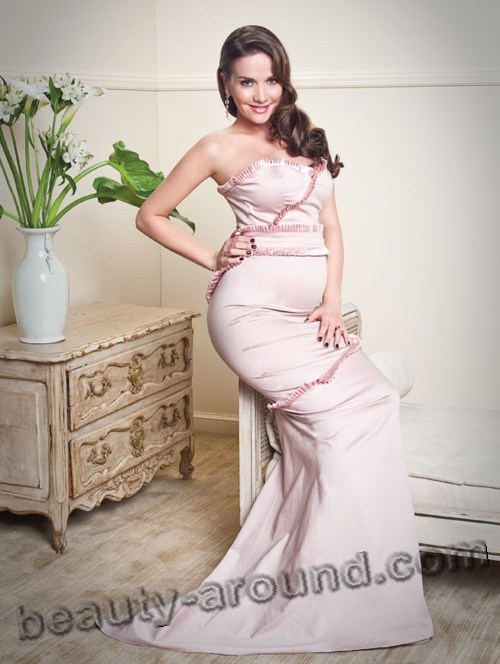Беременная Наталья Орейро фото