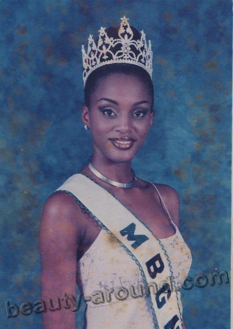 Chineye Ochuba Miss Nigeria 2002 photo