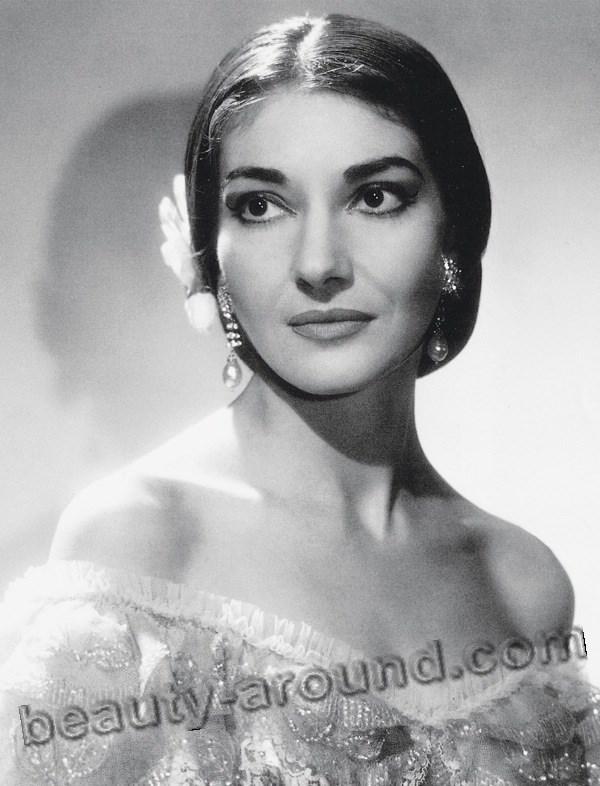Maria Callas Divine Greek soprano singer photo