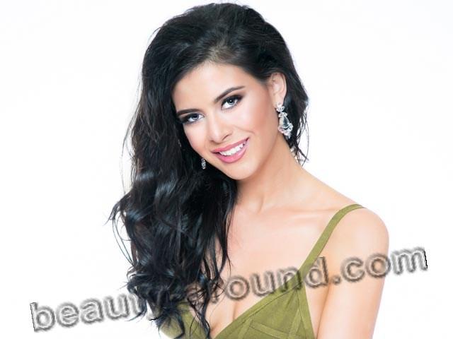 Palestinian girl Sophia Hannan Miss California 2016 picture