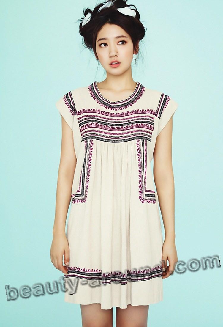 Пак Шин Хе модельное фото из журнала