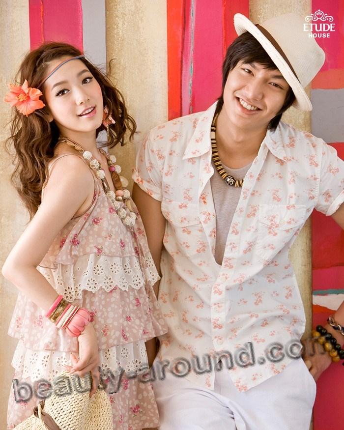 Пак Шин Хе и Ли Мин Хо вместе фото