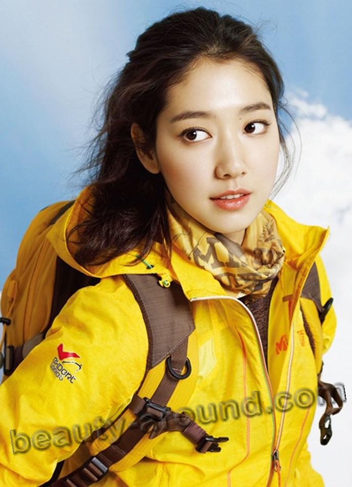 Park Shin Hye в спортивном костюме фото
