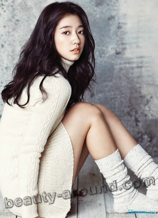 Пак Шин Хе красивая корейская модель фото