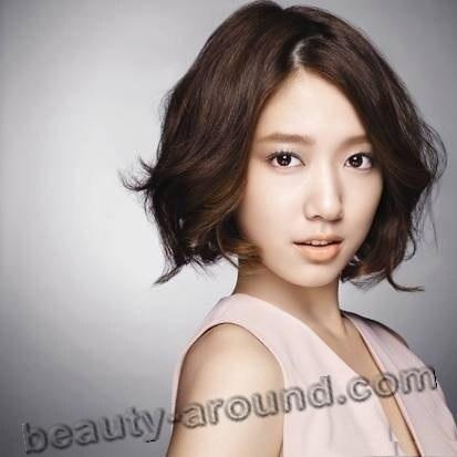 Пак Шин Хе с короткой стрижкой фото