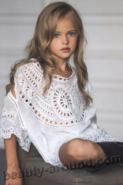 Kristina Pimenova красивая топ-модель России фото