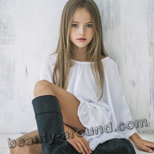 Kristina Pimenova востребованная модель фото