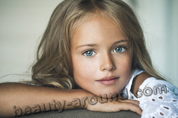 Kristina Pimenova beautiful child