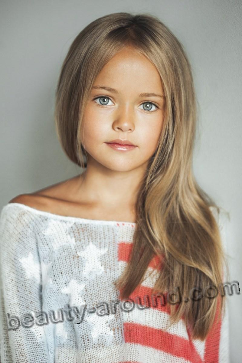 Kristina Pimenova красивая русская девочка-модель фото