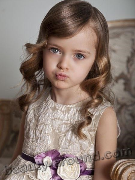 Kristina Pimenova childhood photo