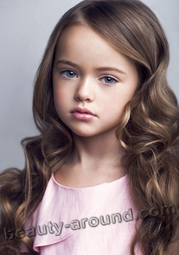 Kristina Pimenova с красивыми волосами фото