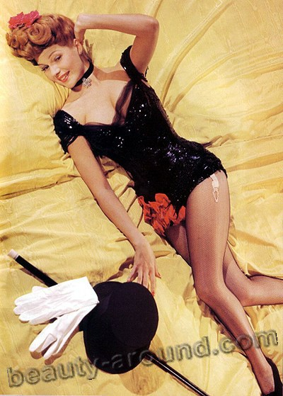 Rita Hayworth pin up actress photo