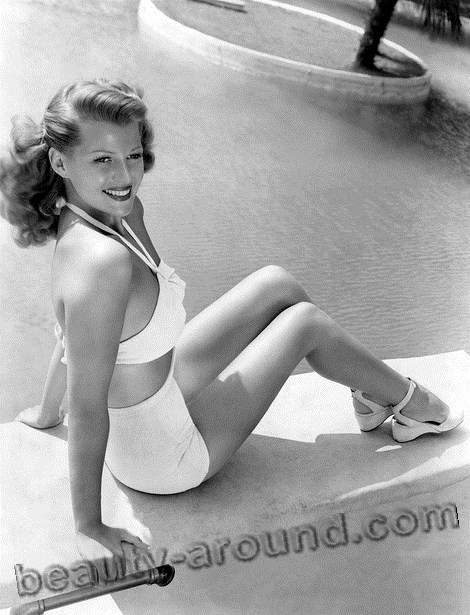Hottest Pin up Rita Hayworth photo