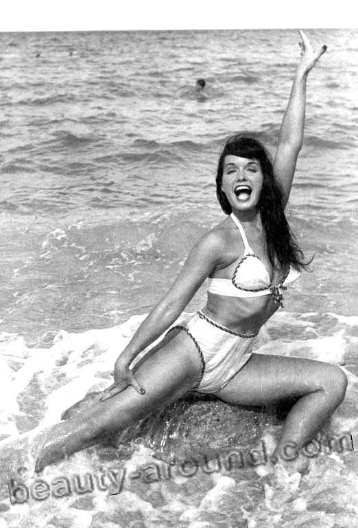 Bettie Mae Page American pin up model photo