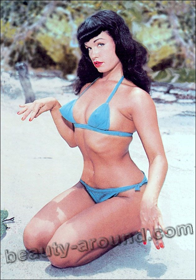 Pin-up girl Bettie Mae Page photo