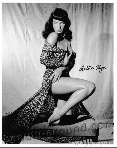 Bettie Mae Page sexy photo of Pin-up