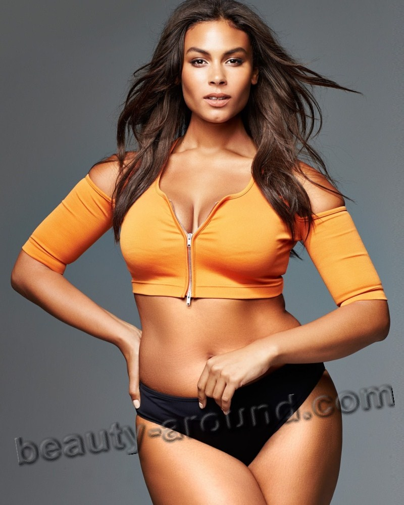 Marquita Pring American plus size model photo