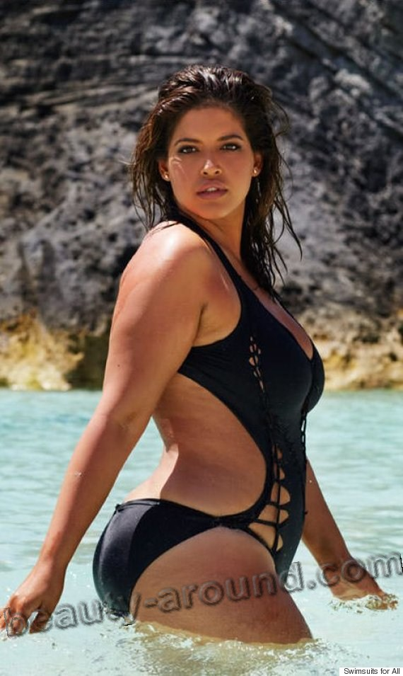 Denise Bidot plus-size model picture