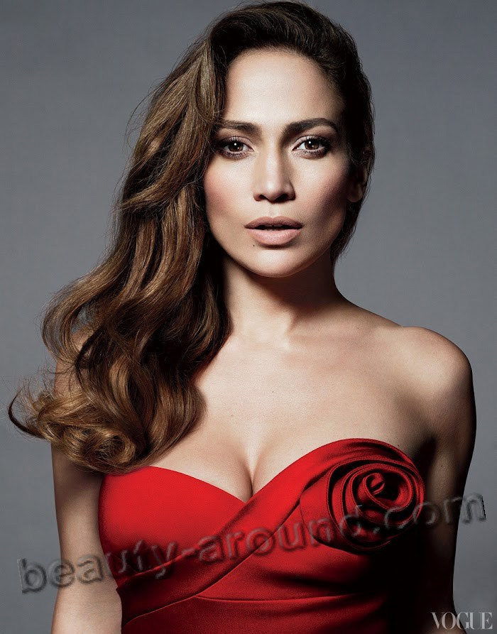 Beautiful Puerto Rican women, Jennifer Lopez American actress, singer, dancer, fashion designer, producer