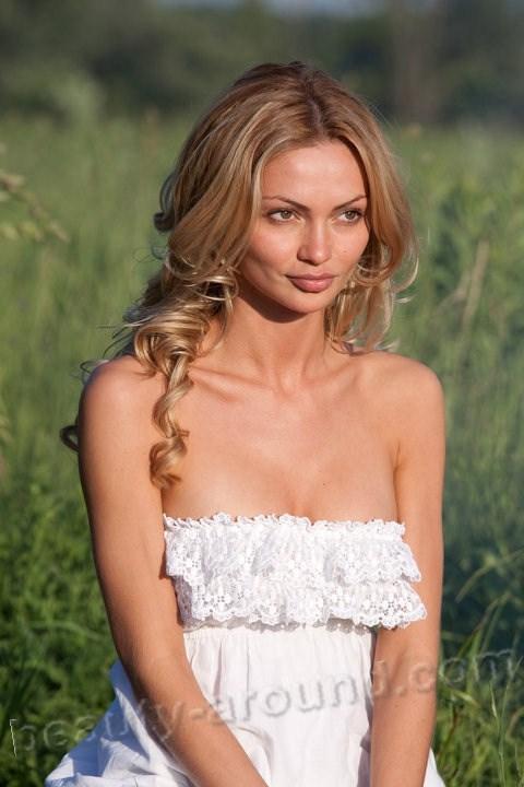 Джия Скова (Гулия Сковородина) красивая российская фотомодель