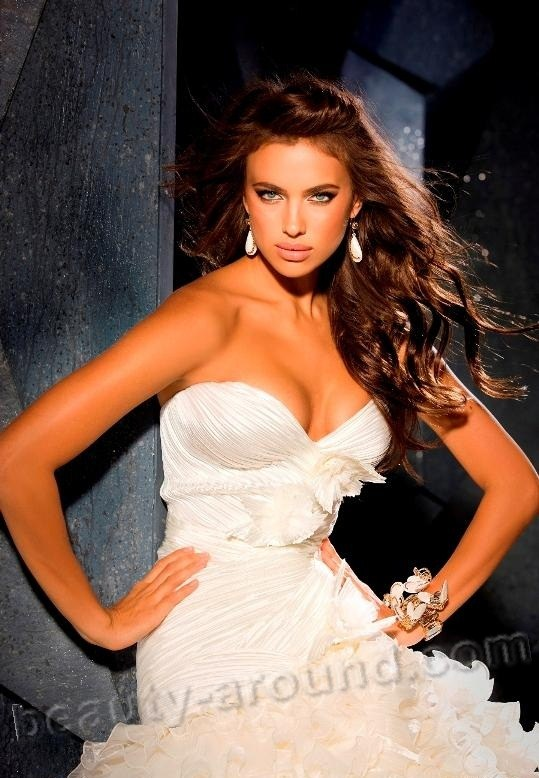Irina Shayk the most beautiful fashion model Russia