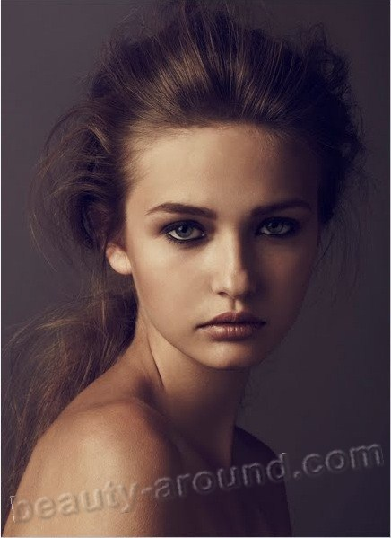Kristina Romanova Russian national fashion model