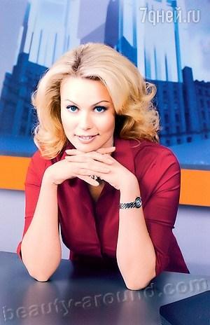 Екатерина Коновалова ведущая программы «Вести-Спорт» на канале Россия