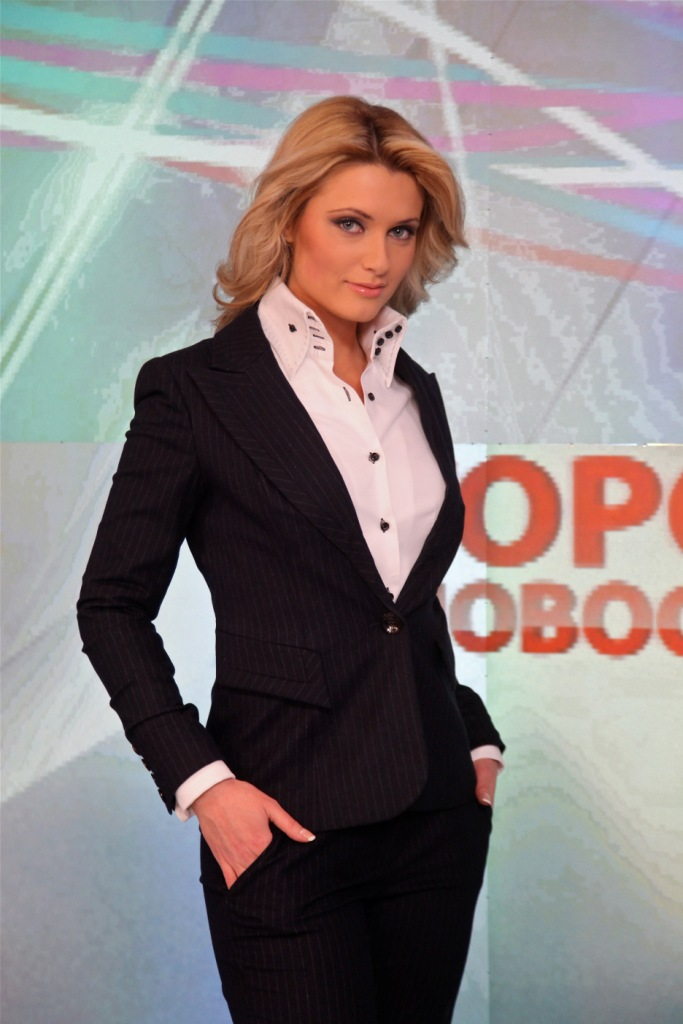 Olga Zhuk Russian TV host
