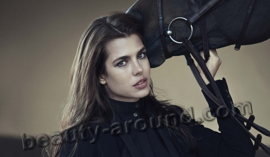Charlotte Casiraghi hot sexy Royal model photo
