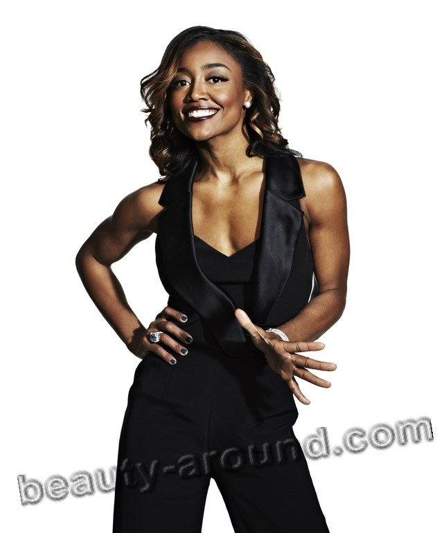 Patina Miller American actress of musicals photo