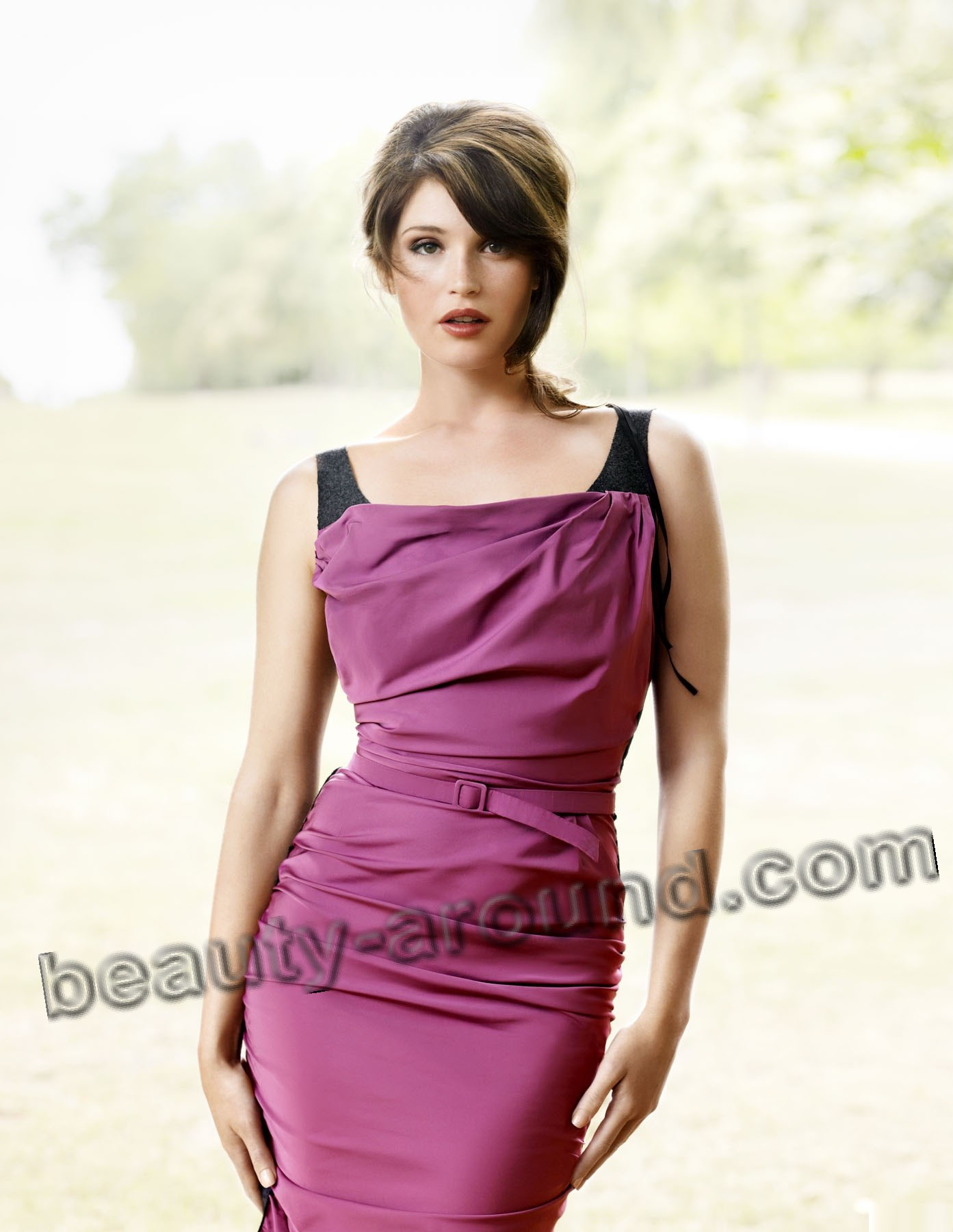 Gemma Arterton English beautiful actress of musical photo