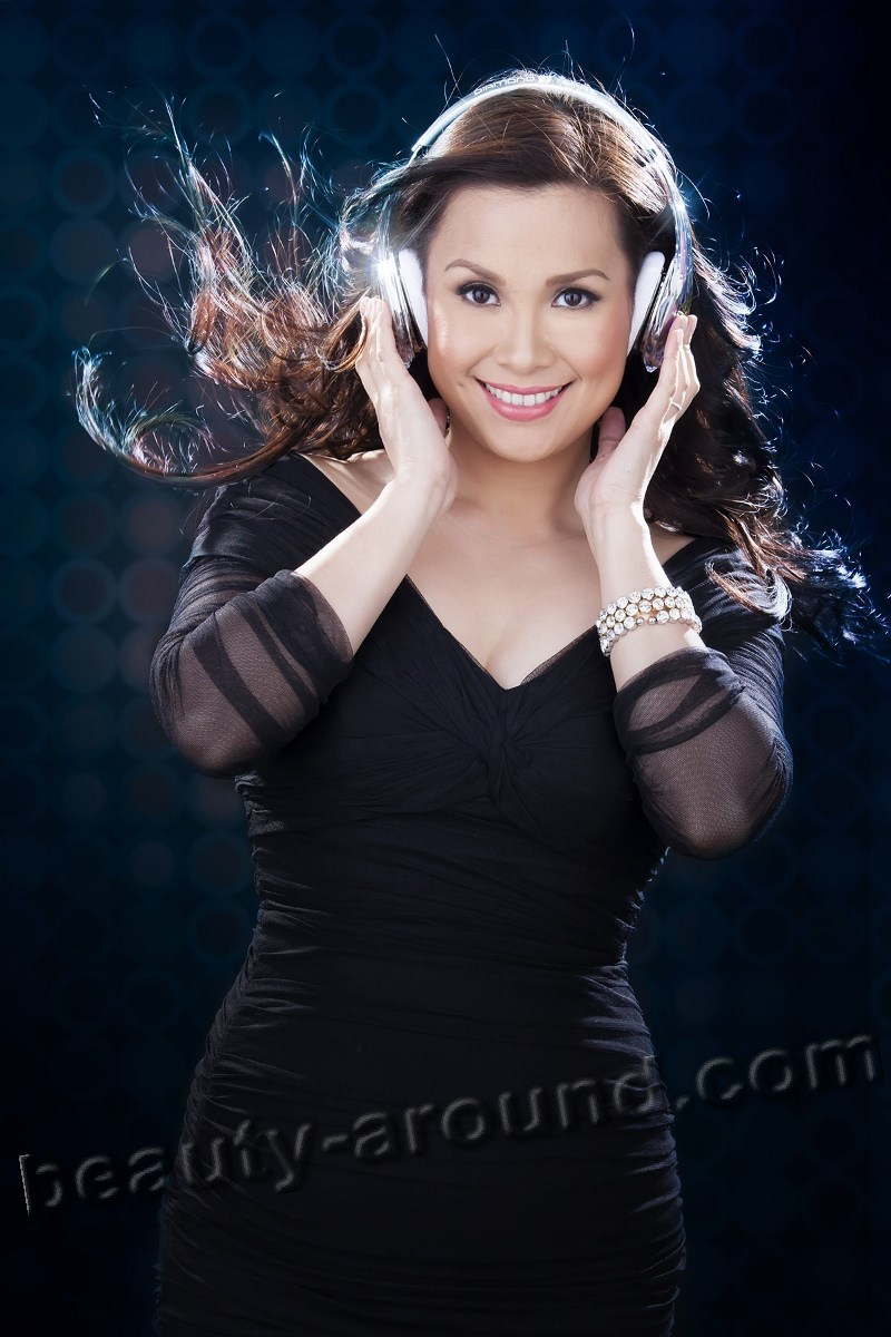 Lea Salonga Filipina singer and actress of musicals photo