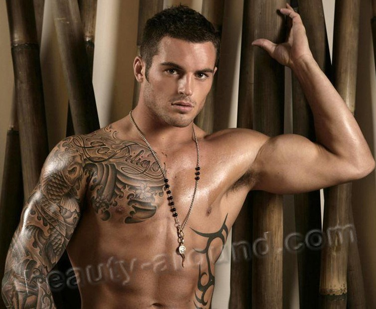 Handsome Male Athletes Daniel Conn