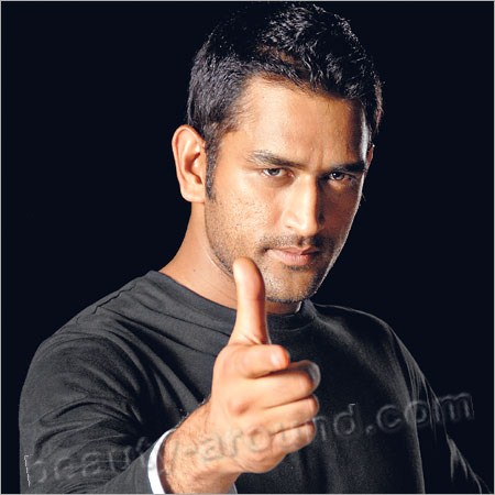 Handsome Male Athletes Mahendra Singh Dhoni