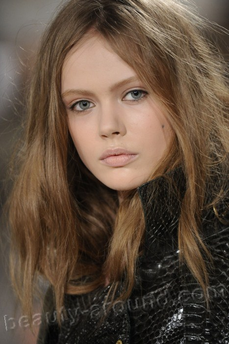 Frida Gustavsson  Swedish top model