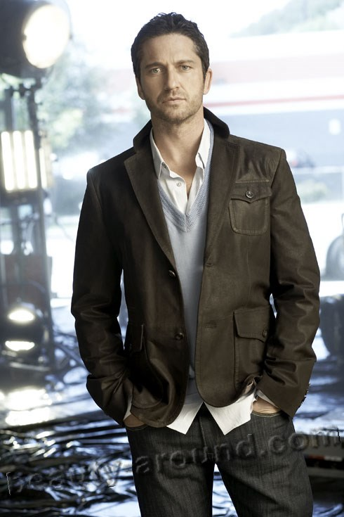 handsome Scottish Men, Gerard Butler photo, best known Scottish actor
