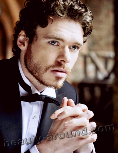 Richard Madden photo, Scottish actor acting Robb Stark in the Games of Thrones