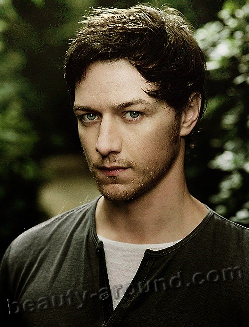 James McAvoy photo, popular Scottish actor, most handsome Scottish Men