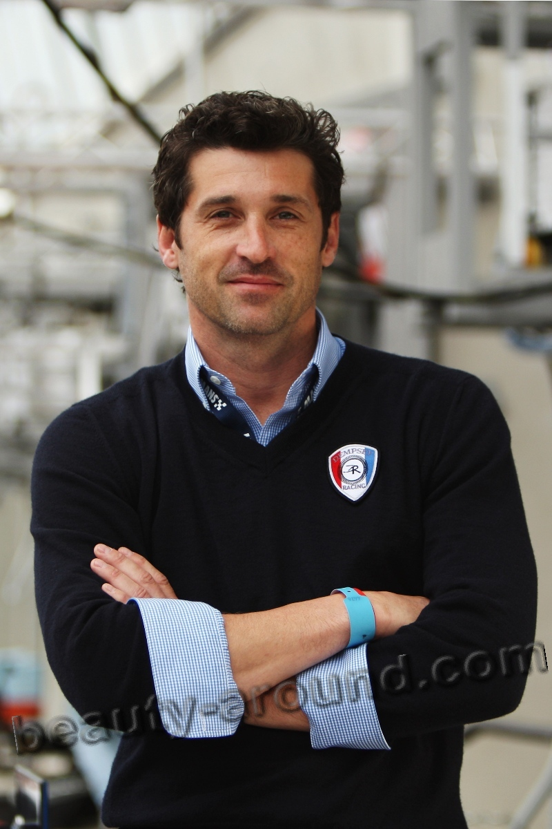 Patrick Dempsey sexy American TV series actor