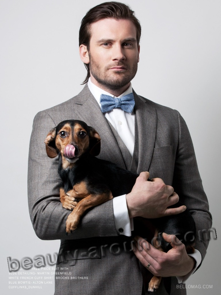 Clive Standen Northern Irish TV series actor photo