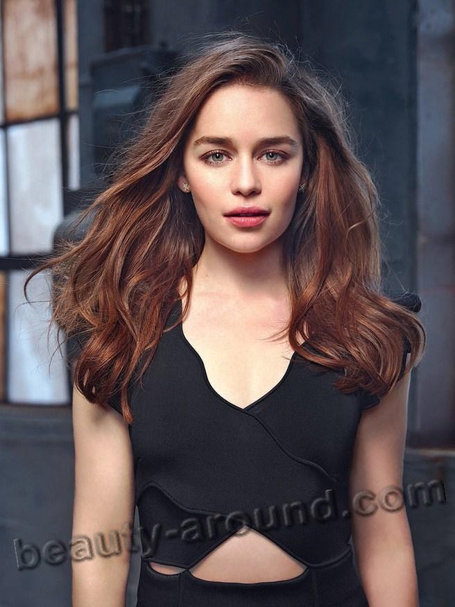 Emilia Clarke beautiful Daenerys Targaryen