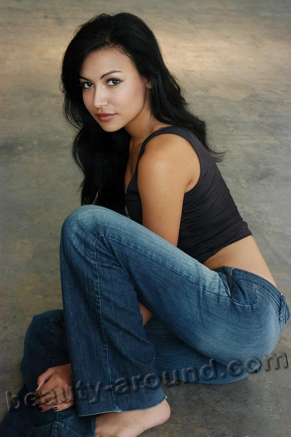 Naya Rivera sexy TV series actress photo